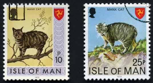 manx cat stamps