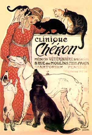Steinlen poster