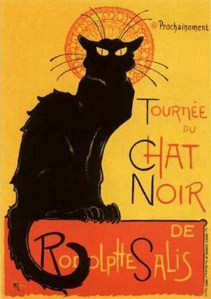 Steinlen Chat Noir
